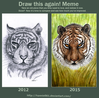 Before and after: The Wild by hannie001