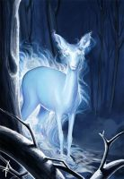 HP-DH : The Silver Doe by Anna-Edwards