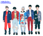 SHINee Married To The Music Render by RadientGlow