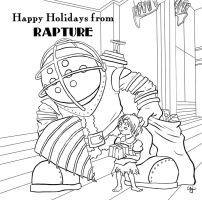 Happy holidays from Rapture by hiddentalent1