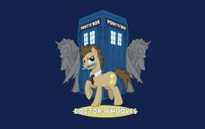 Doctor Whooves Wallpaper [1440x900] by FullMetal-Landon