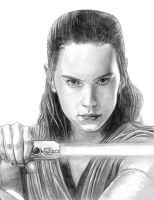 Rey (Star Wars Ep. VIII - The Last Jedi) by SoulStryder210
