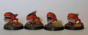 15mm Scale Carnosaurs by SpaceCowSmith
