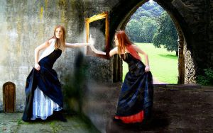 + through the Looking Glass + by Alice-fanclub