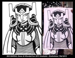 Big Barda for WonderCon 2013 by Enshohma