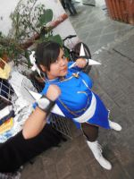 Chun Li cosplayer by ChrisNext