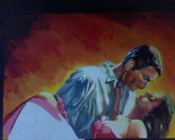 Gone With the Wind unfinished by PreetK