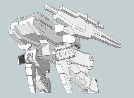 SketchUp Project: REX 3 by RazielGardel