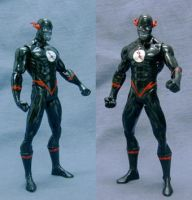 DC Black Flash custom figure by custommaker