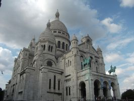 Sacre Couer - France 147 by BloodMoonRose1