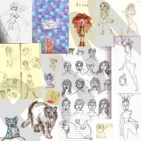 Holy mother of sketchdumps! (part 1) by bambiin