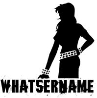 Whatsername tshirt design by antinonconformist
