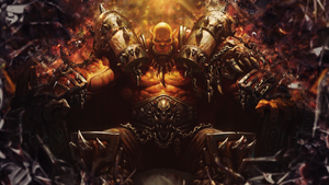 Garrosh Hellscream by SpiritAJ