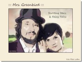 ::: Mrs. Greenbird ::: by Silk-Elle-LaBoe