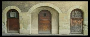 Middle Age Door by superjuju29