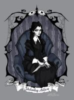 Wednesday Addams by IrenHorrors