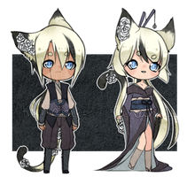 Twin Flower Baby Adopts 2/2 [CLOSED] by Kunamei