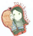 TokiNathan cuteness. by SparklingGhost