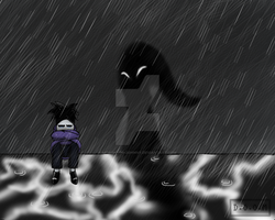 The Sadness In The Past by Mid8Shad0-Johnny