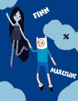 :AT: FinnxMarceline by MiharutheKunoichi