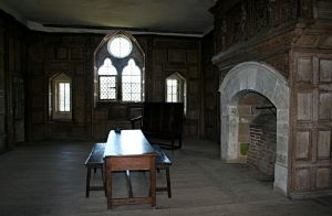 Stokesay Castle Interior 1 by OghamMoon