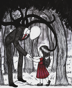 slenderman 8D by surna400