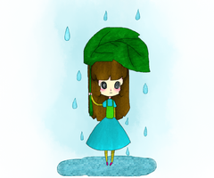 raining by lilinyancatlolol