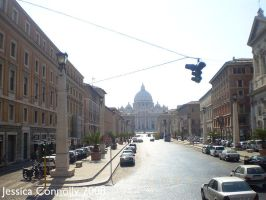 Rome Street by JACPhotography