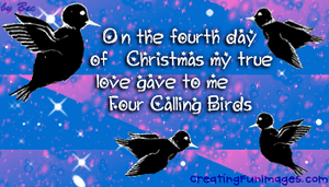 4th day of christmas by Rebecca329