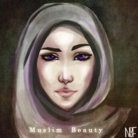 Muslim Beauty by NOUF7