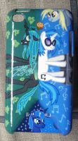crazy ipod case painting by midnightfox1