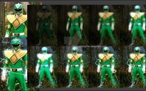 Green Ranger Break Down by DesignsByTopher