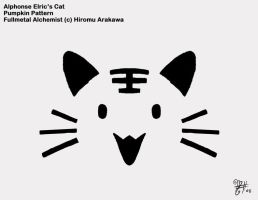 Elric Cat Pumpkin Pattern by PacificaArts