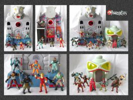 Thundercats - Miniatures 1 by mikedaws