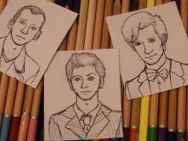 Nine, Ten and Eleven: uncoloured. by Ladyly