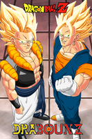 Fusion Gogeta and Vegeto by DrabounZ
