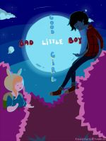 Adventure Time - Bad Little Boy by xhiro