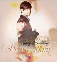 Poster HBD Changmin by OumBoJae