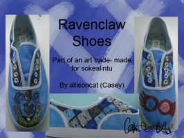 Ravenclaw Shoes by caseycreates