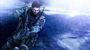 Chris Redfield: Winter Warrior by LoneWolf117