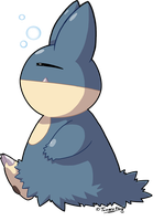 Munchlax by TamarinFrog