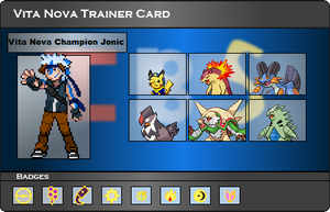 I.B.S Trainer Card - Jonic by JonicOokami7
