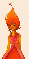 Flame Princess by MudZakip