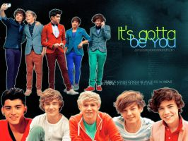 It's gotta be you by pompasdecolores