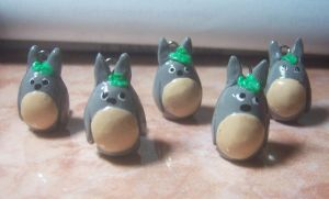 totoro charms by jong28