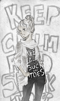 Keep calm and SUCK MY TOE by Shrimpoop