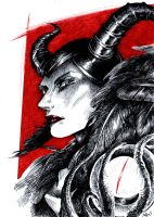 Maleficent by Kaos-Nest