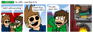 EWCOMIC No. 205 - Junk Sale Pt5 by eddsworld