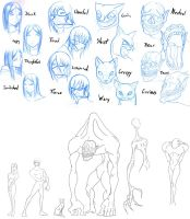 Character Design class - Assign 4 part 1 by SycrosD4