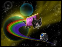 The Zooming Nyan by SemajZ